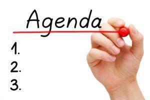 Agenda de Trabajo