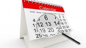 Calendario Busqueda de Empleo